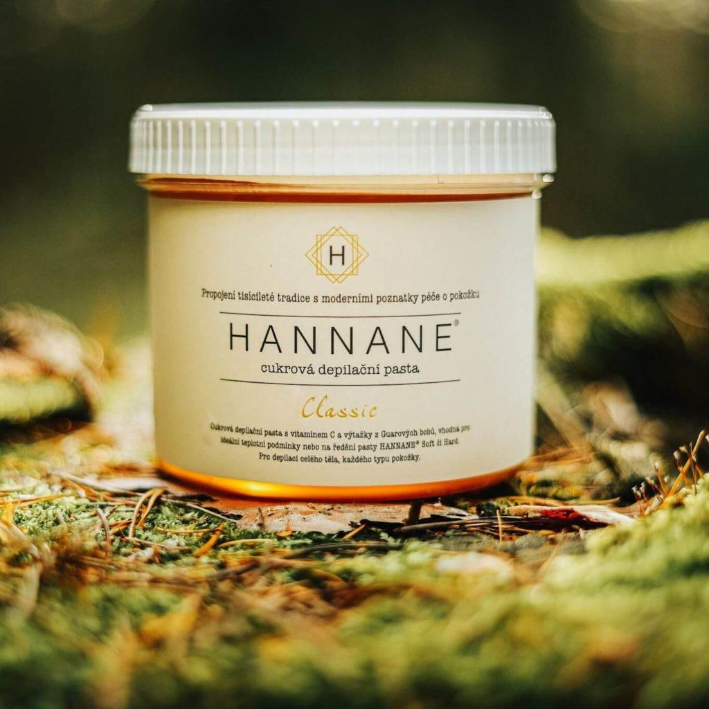 Cukrová depilační pasta Hannane Classic