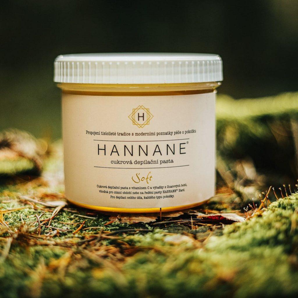 Cukrová depilační pasta Hannane Soft
